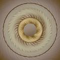 Circular Abastract Art 5 by Eleanor Bortnick