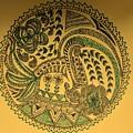 Circular Artwork by Richa Ahuja