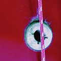Circular Rojo by Dorothy Hilde