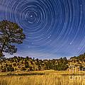 Circumpolar Star Trails Over Mimbres by Alan Dyer