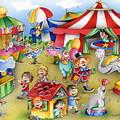 Circus In Town by Patrick Hoenderkamp