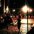 Circus View No3  1980s by Joseph Duba