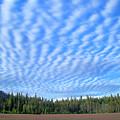 Cirrocumulus Clouds Over Mt. Mclaughlin by Bruce Block