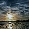 Cirrus Clouds by John R Williams
