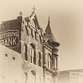 Citizens Bank Sepia by James Barber