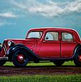 Citroen Traction Avant 1934 Painting by Paul Meijering
