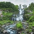 Cittenango Falls Tilt Shift Panorama  by Michael Ver Sprill