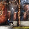 City - Newark Nj - Always Waiting  by Mike Savad
