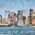 City - Ny - Manhattan by Mike Savad