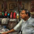 City - Ny - The Pretzel Vendor by Mike Savad