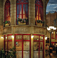 City - Vegas - Paris - Le Cafe by Mike Savad