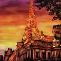 City - Vegas - Paris - The Paris Hotel by Mike Savad