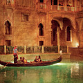 City - Vegas - Venetian - The Gondola's Of Venice by Mike Savad