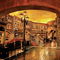 City - Vegas - Venetian - The Streets Of Venice by Mike Savad