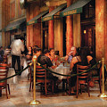 City - Venetian - Dining At The Palazzo by Mike Savad