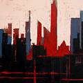 City Abstract No. 1 by Courtney Waller