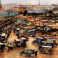 City - Boston Ma - The Great Molasses Flood 1919  by Mike Savad