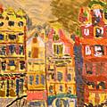 City Buildings by Jim Kuhlmann