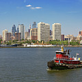 City - Camden Nj - The City Of Philadelphia by Mike Savad