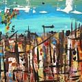 City Chaos by Mary Carol Williams