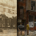 City - Elegant Apartments - 1912 - Side By Side by Mike Savad