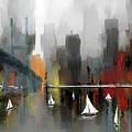 City Glow by Eduardo Tavares