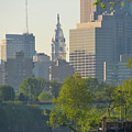 City Hall From The Schuylkill River by Bill Cannon