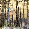 City In Trees by Ruta Naujokiene