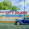 City Island Billboard by Marguerite Chadwick-Juner