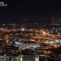 City Lights Over Bham, Al by Jeffery Gordon