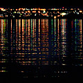 City Lights Upon The Water 1 by Mark Sellers