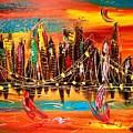 City Ny by Mark Kazav