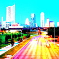 City Of Austin From The Walk Bridge by James Granberry