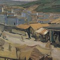 City Of Constantine Algeria 1907 Kuzma Sergeevich Petrov-vodkin by Eloisa Mannion
