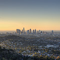 City Of Los Angeles At Dawn by Trekkerimages Photography