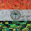 City Of Miami Flag by Claudia Di Paolo