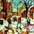 City Of Montreal Hockey Our National Pastime by Carole Spandau