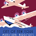 City Of New York Municipal Airports by Aapshop