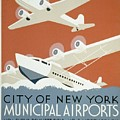 City Of New York Municipal Airports by Christopher DeNoon