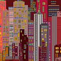 City Of Night by Helene  Champaloux-Saraswati