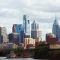 City Of Philadelphia by Linda Sannuti
