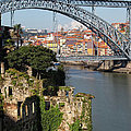 City Of Porto In Portugal Picturesque Scenery by Artur Bogacki