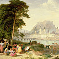 City Of Salzburg by Philip Hutchins Rogers