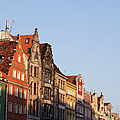 City Of Wroclaw Old Town Skyline At Sunset by Artur Bogacki