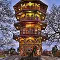City Park Pagoda by Third Eye Perspectives Photographic Fine Art