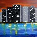 City Scape_night Life by Jimmy Clark