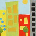 City Scene 2 by Laurie Breen