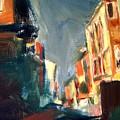 City Shadows by Bob Dornberg