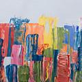 City Skyline 1 by Brad Rickerby