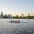 City Skyline - Philadelphia On The Schuylkill River by Bill Cannon
